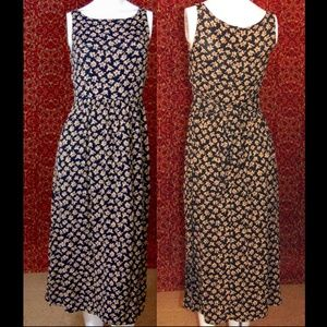 ICE black rayon sleeveless maxi dress 8